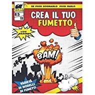 Crea il tuo fumetto: Fumetti vuoti per bambini e adulti, Crea personaggi e trucco, Virgin Comics per ragazze e ragazzi, Fumetti per creare il tuo fumetto