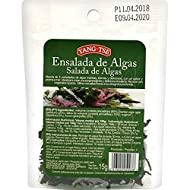 Yang- Tse- Insalata di alghe - Tenera e deliziosa miscela di alghe - Gusto intenso e aroma di mare - sacchetto 15 g